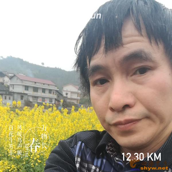 12.3公里乡村里路边又是一片油菜花